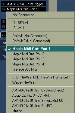 Cables MIDI Virtuales (Win) | MÚSICA CONTEMPORÁNEA