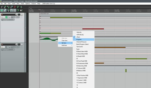 MIDI_Key Editor en Pantalla Principal-Cambiar de velocity a... etc